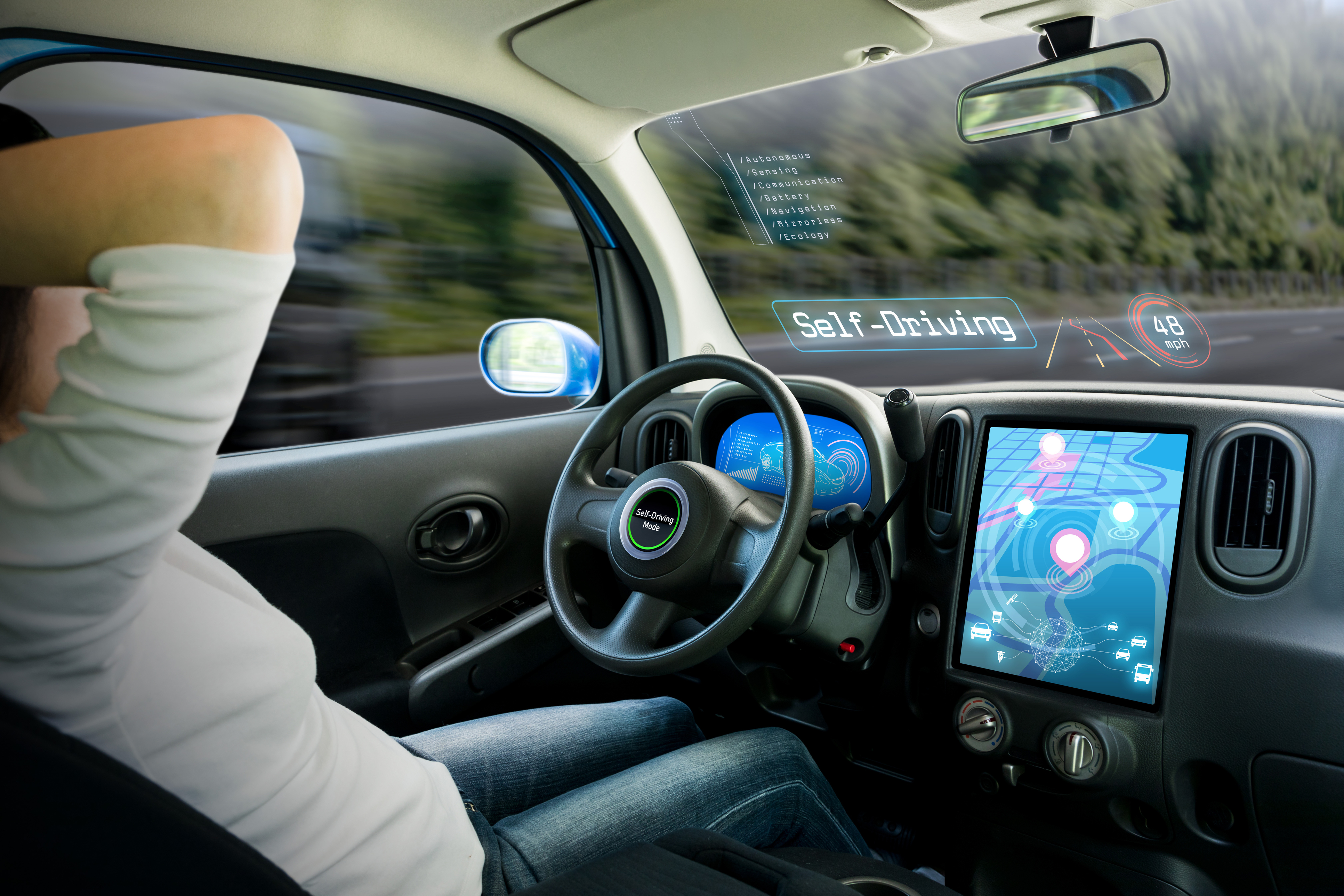 Behind The Wheel >> Self Driving Vehicles Who S Behind The Wheel Two Ways Autonomous